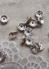 Hạt dẹt viền lấp lánh mẫu 2