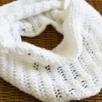 Cách đan khăn ống bằng que đan thường cực đơn giản