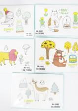 Hình dán động vật 3D