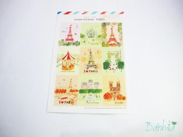 Tem thư Paris