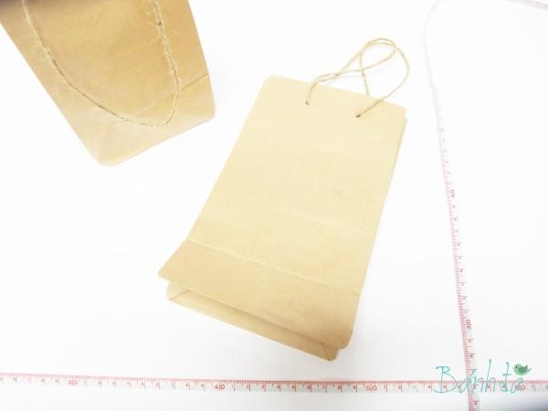 Túi giấy Kraft 11x17cm