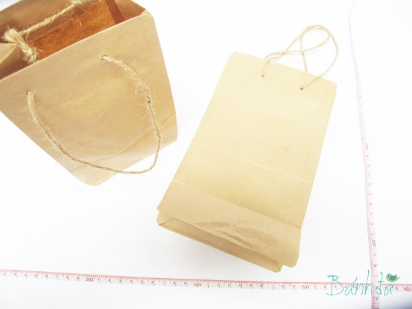 Túi giấy Kraft 12x21cm
