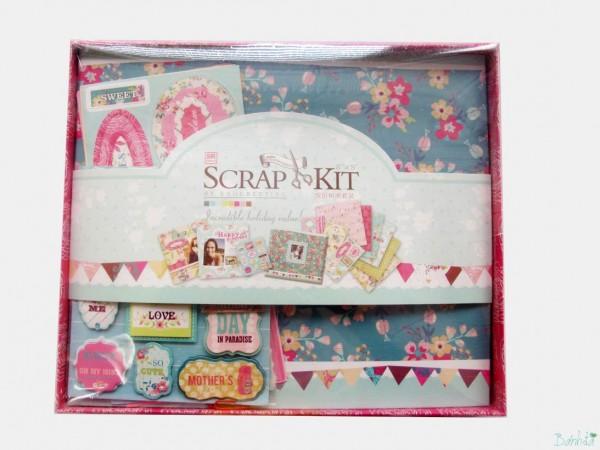 Bộ kit Scrapbook mẫu 1