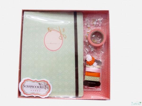 Bộ kit Scrapbook mẫu 2