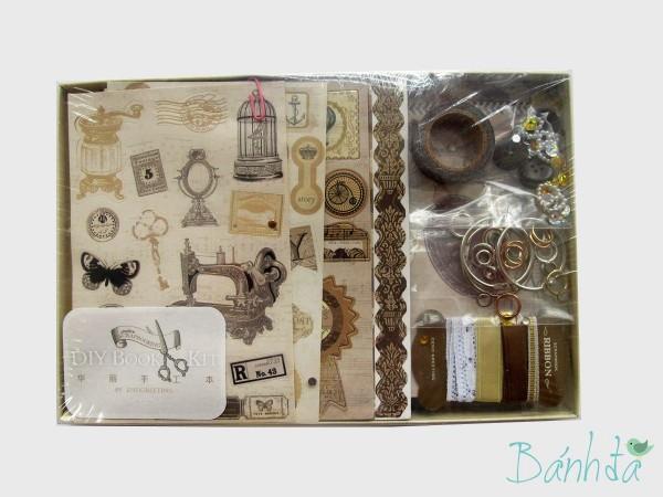 Bộ kit Scrapbook mẫu 3