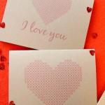 Làm thiệp trái tim, gửi lời yêu thương đến nửa kia của bạn
