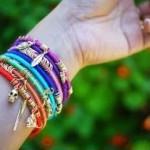 Tự làm vòng tay handmade cực chất